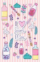 Adoro i cartoni animati estivi