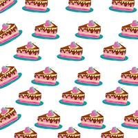 Birthday cake background