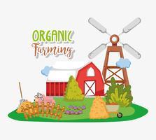 Cartoni animati per l'agricoltura biologica