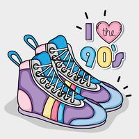 Ik hou van het concept van de jaren 90