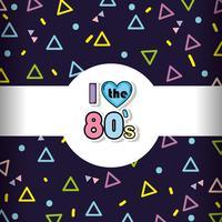 Hintergrund Memphis-80s