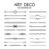 set of dividers for the design of your ideas. vector