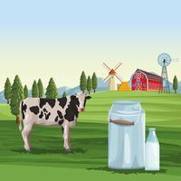 Jordbruksmjölk naturligt