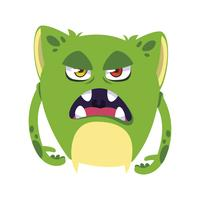 funny monster comic character avatar