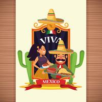Viva Mexico Cartoons