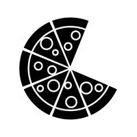 pizza icon image vector