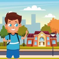 tornare a scuola con felicità