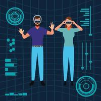 Tecnología de realidad virtual