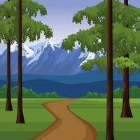 Scenario paesaggistico di Wanderlust