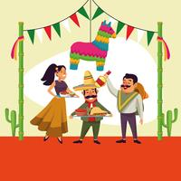 Mexicans cinco de mayo cartoon