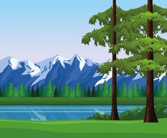 Paysage de paysage Wanderlust