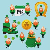 Happy saint patricks day vector