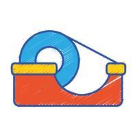 transparentes Klebeband Objektdesign