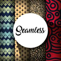set seamless pattern design background decoration