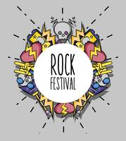 rock music festival event concert