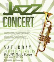 Fundo do festival de jazz