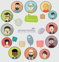 Geschäftskonzept modernes Design Infografik
