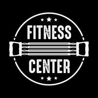 Emblema de fitness e logotipo, bom para design de impressão