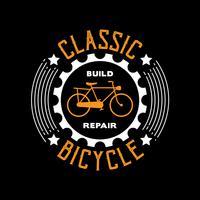 Citazione della bicicletta e dicendo buono per la stampa