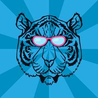 Line Art Tiger