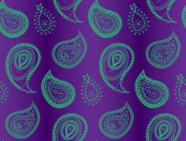 Sem costura padrão indiano
