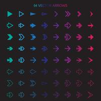 Isolated arrows set, undo and previous buttons vector