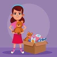 Kid donatie en liefdadigheid
