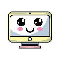 kawaii cute happy screen monitor
