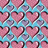 heart symbol of love background design