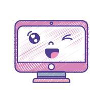 kawaii cute funny screen monitor