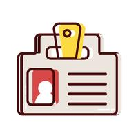 mensaje de estrategia de información de documento de negocios
