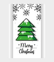 Feliz Navidad decoración diseño para celebración