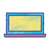 color laptop screen electronic technology