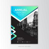 Annual Report Corporate, creative Design vector