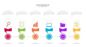 modern Infographics time line Vector