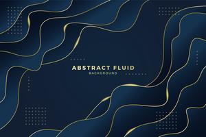Estilo fluido abstracto del lujo del fondo. Ilustración vectorial