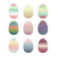 huevos de pascua de la vendimia