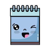 Niedliches lustiges Notizbuchwerkzeug Kawaii