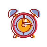 reloj redondo objeto de alarma de diseño
