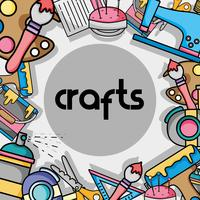 art and craft creative object design