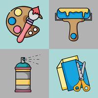 stel kunst in en maak creatieve objecten
