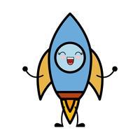 ruimte raket pictogram