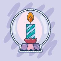 buon natale felice celebrazione design