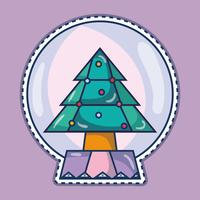 Frohe Weihnachten glücklich Feier Design