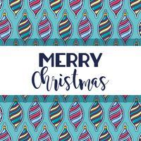 vrolijk kerstfeest gelukkig feest ontwerp