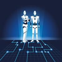 robots humanoides avatares