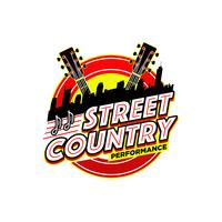 Logo delle performance di musica country