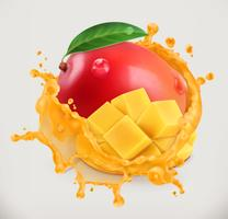 Mango med saftstänk
