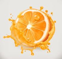Succo d'arancia. Frutta fresca