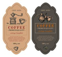 Design di packaging per caffè.